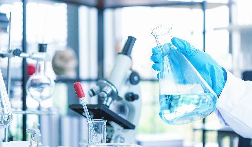Darstellung der Abteilung Chemie